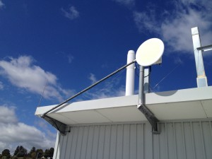 Backhaul to Oxley Hill at Australian BioResources, Moss Vale.